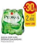 Oferta de Água com gás Pedras por 2,49€
