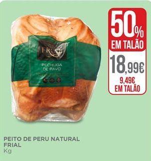Oferta de Peito de peru por 9,49€