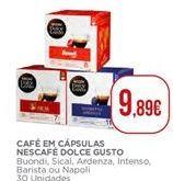 Oferta de Cápsulas de café Nescafé por 9,89€
