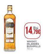 Oferta de Whisky escocês Bushmills por 14,79€