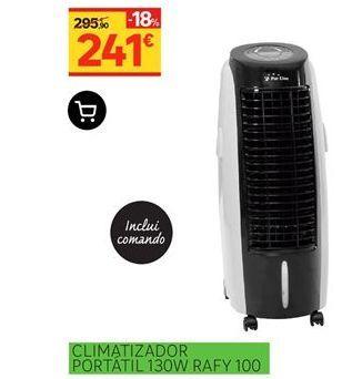 Oferta de Climatizador portatil 130W Rafy 100 por 241€