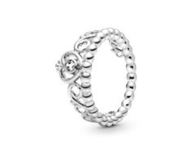 Oferta de Anel de prata com zircónia por 59€