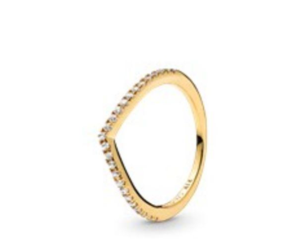 Oferta de Anel Sparkling Wishbone por 59€