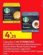 Oferta de Cápsulas de café por 4,25€