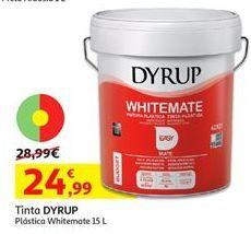 Oferta de Pintura plástica interior dyrup por 24,99€