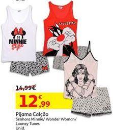 Oferta de Pijama feminino por 12,99€