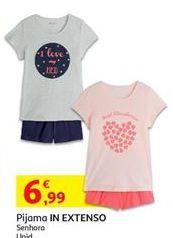 Oferta de Pijama feminino por 6,99€
