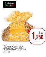 Oferta de Pão de centeio Serra da Estrela por 1,25€