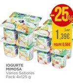 Oferta de Iogurte Mimosa por 1,39€