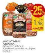 Oferta de Pão integral Oroweat por 1,79€