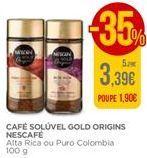 Oferta de Café solúvel Nescafé por 3,39€