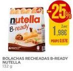 Oferta de Bolacha recheada de chocolate Nutella por 1,98€
