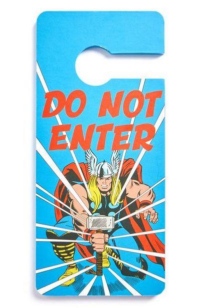 Oferta de Placa porta Marvel Thor por 2,5€
