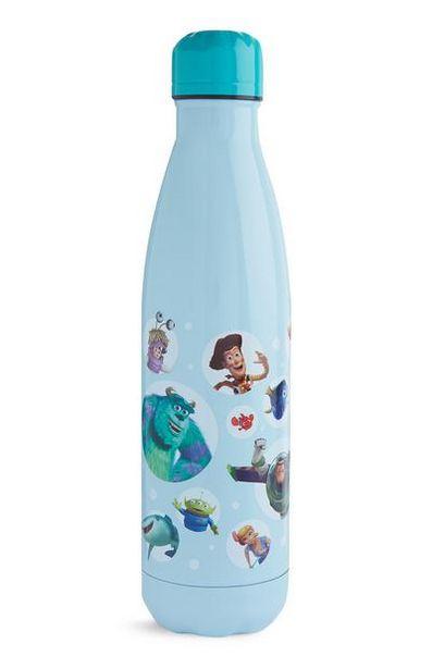 Oferta de Garrafa água personagens Pixar azul por 8€