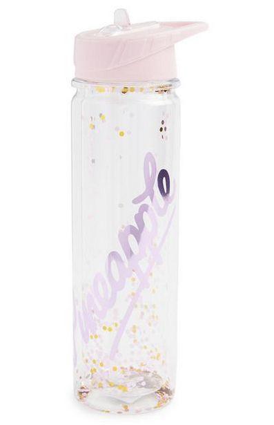 Oferta de Garrafa água brilhos Pineapple por 7€