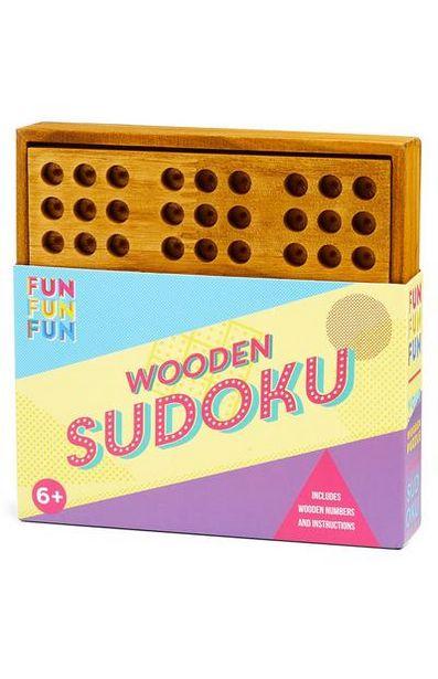 Oferta de Sudoku madeira por 8€