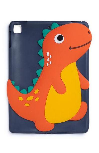 Oferta de Capa tablet dinossauro azul por 5€