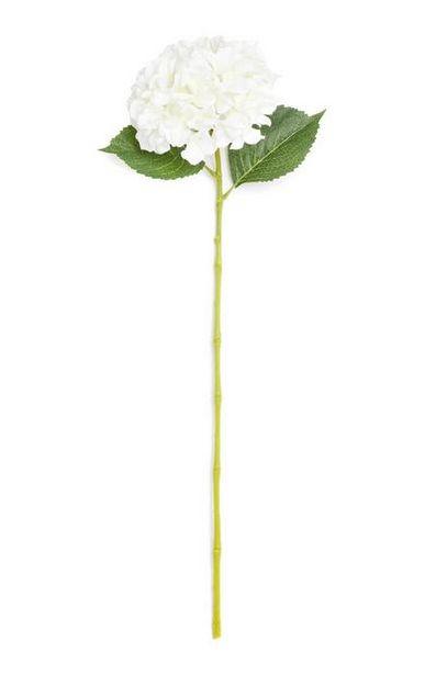 Oferta de Flor haste única branco por 2€
