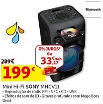 Oferta de Hifi Sony por 199€