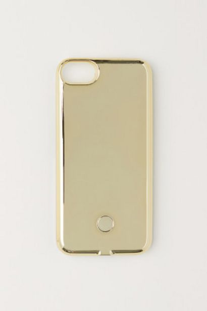 Oferta de Capa iPhone 6/7 com luz selfie por 6,99€