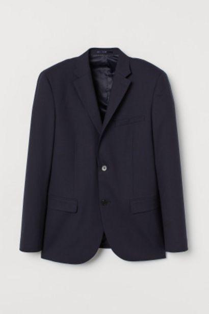 Oferta de Casaco em lã Slim Fit por 44,99€