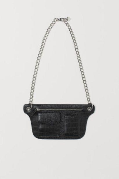 Oferta de Bolsa de cintura com corrente por 5,99€