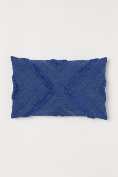 Oferta de Capa de almofada em algodão por 14,99€