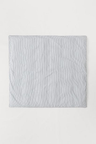 Oferta de Capa edredão percal de algodão por 59,99€