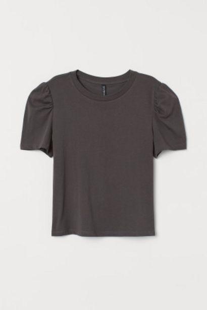 Oferta de T-shirt com mangas tufadas por 2,99€