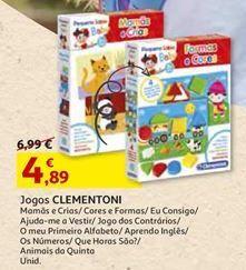 Oferta de Jogos clementoni por 4,89€
