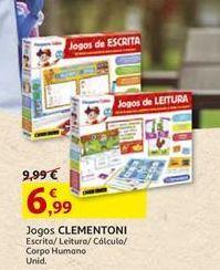 Oferta de Jogos clementoni por 6,99€