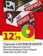 Oferta de Cápsulas de café Dolce Gusto por 12,79€