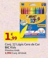 Oferta de Lápis de cor BIC por 1,99€