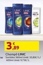 Oferta de Shampoo Linic por 3,89€