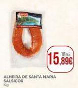 Oferta de Alheira por 15,89€