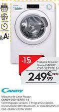 Oferta de Máquina lavar roupa Candy por 249,99€