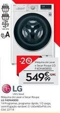 Oferta de Lavadora e secadora LG por 549,99€