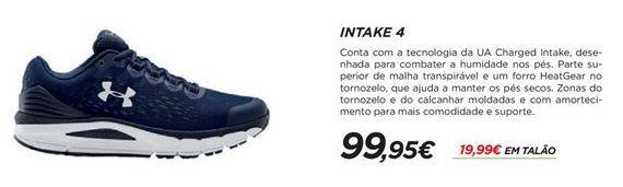 Oferta de Sapatilhas masculinas Under Armour por 99,95€