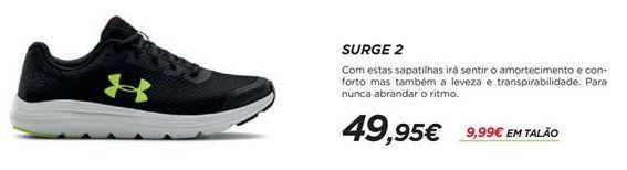 Oferta de Sapatilhas masculinas Under Armour por 49,95€