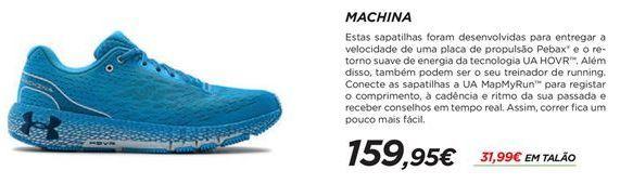 Oferta de Sapatilhas masculinas Under Armour por 159,95€