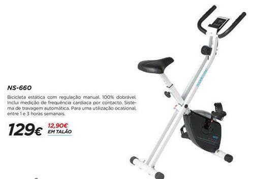 Oferta de Bicicleta ergométrica por 129€