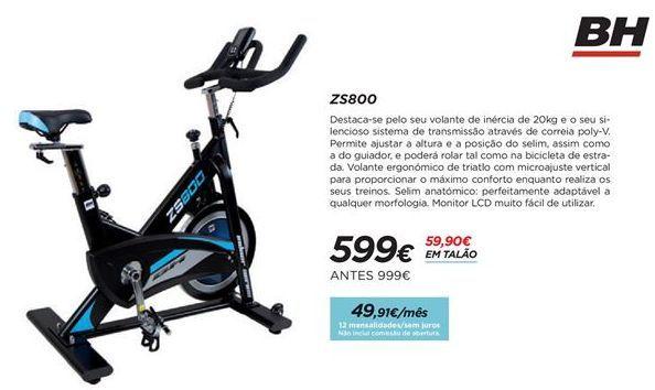 Oferta de Bicicleta ergométrica indoor por 599€