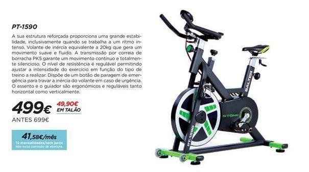 Oferta de Bicicleta ergométrica indoor por 499€