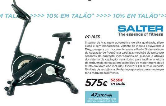 Oferta de Bicicleta ergométrica indoor por 575€