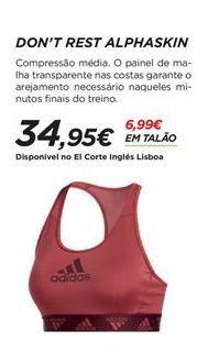 Oferta de Top Adidas por 34,95€