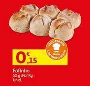 Oferta de Pão por 0,15€