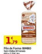 Oferta de Pão de forma Bimbo por 1,79€