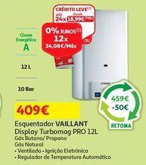 Oferta de Aquecedor Vaillant por 409€
