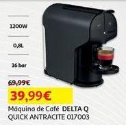 Oferta de Cafeteira Delta Q por 39,99€