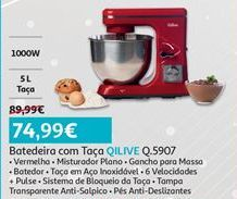 Oferta de Batedeira Qilive por 74,99€